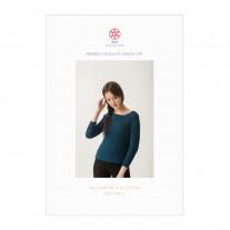 Ribbed Raglan Sweater Pattern
